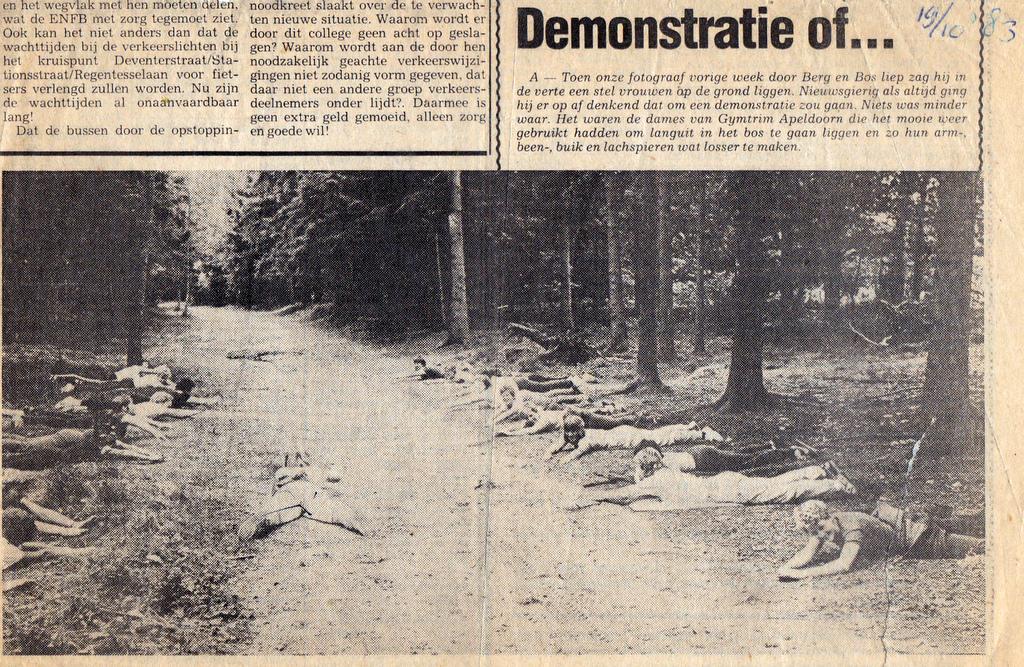 Dinsdagmorgen 1983