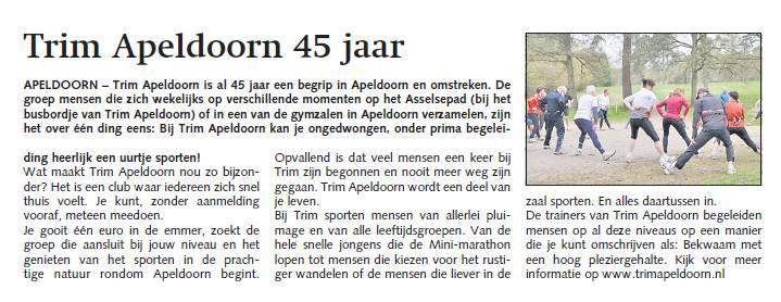 Artikel Trim 45-jaar Stedendriehoek 2011