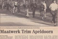Maatwerk Trim Apeldoorn 2001