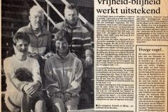 Familie Fontein en Mooij in de Stentor 1989