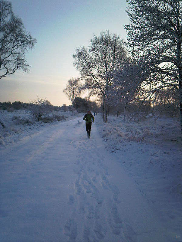 Midwinter marathon training december 2010
