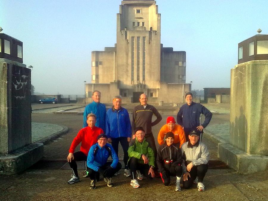 Minitraining de 'Veluwse veldroute' 2011
