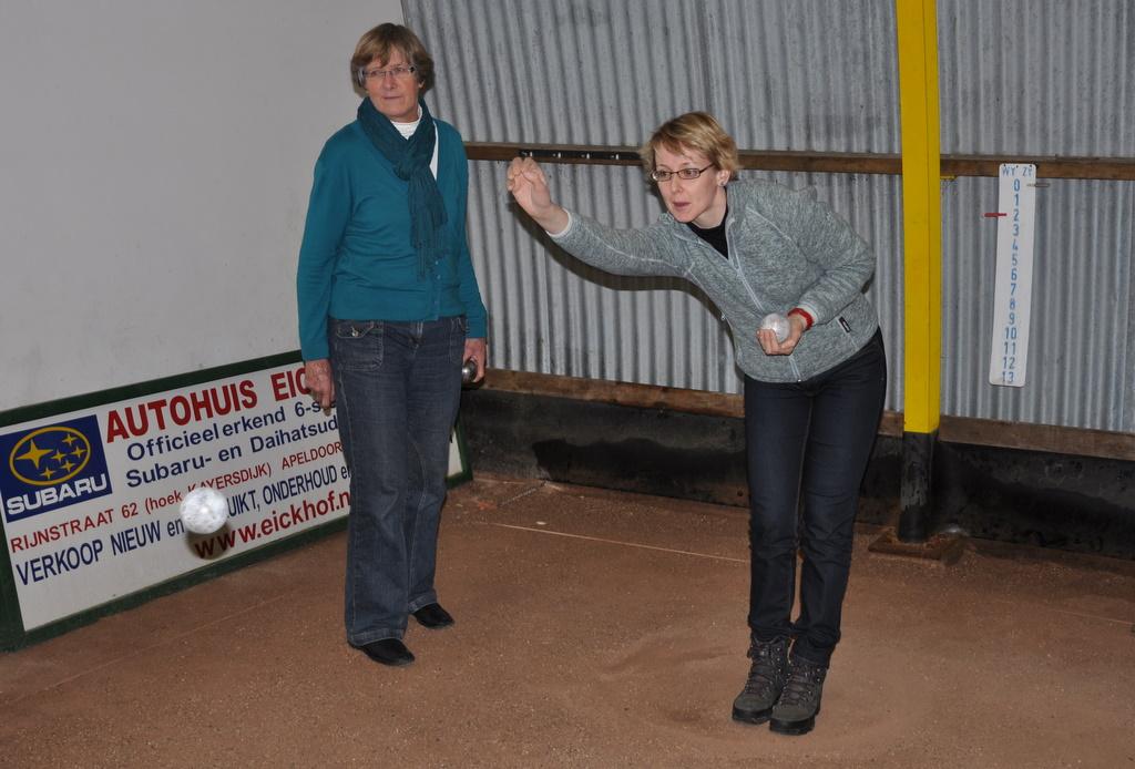 Nieuwjaarsbijeenkomst trainers en bestuur Trim 2011