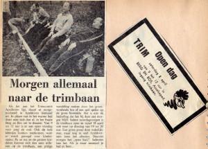 Open dag Trim Apeldoorn in 1969