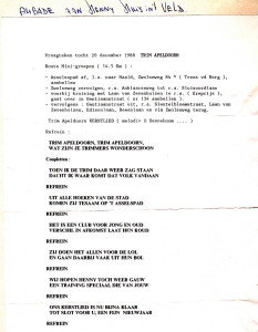Vraagtekentocht 20 december 1988