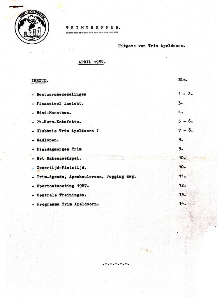 Trimtreffer 1987