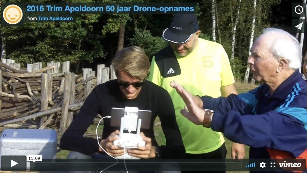 Drone opname's 50 jaar Trim Apeldoorn