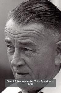 Gerrit Rijke, oprichter Trim Apeldoorn